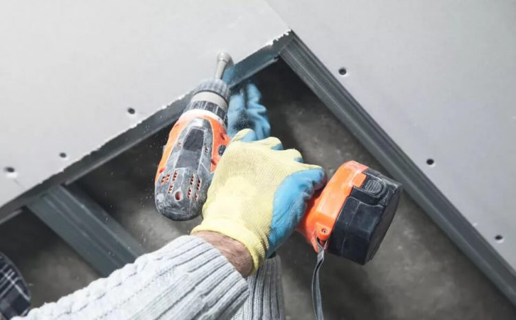 How to Install Drywall Screws