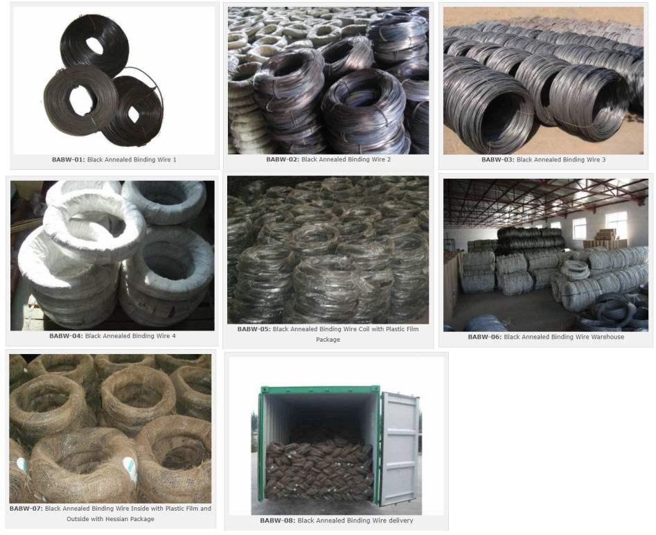 Black Annealed Wire as TieBaling Wire in Buildings, Parks, Daily