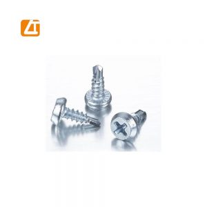 White Zinc Pan Plated Framing Head Self Drilling Screw