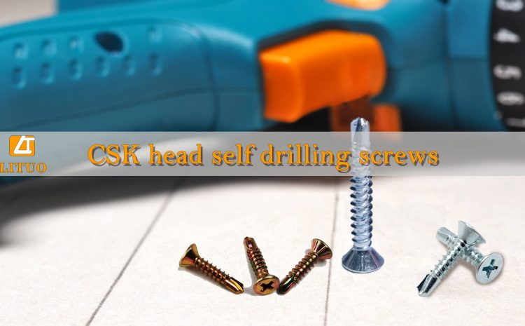 What is the best Csk head self drilling screws?