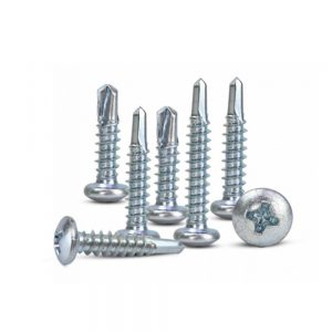 self drilling flat head screws