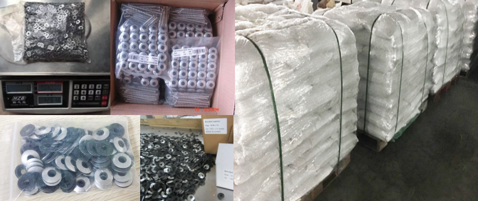 packing EPDM Bonded Washer 3