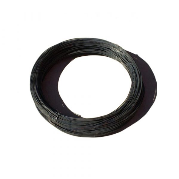 Black Iron Wire, also known as oil painted black iron wire or black mild steel wire, is a kind of iron wire without any processing.