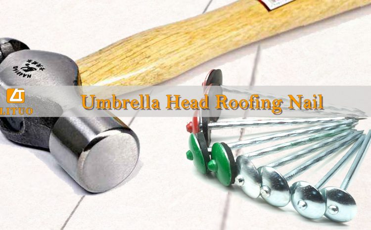 What are the different types of roofing nails?