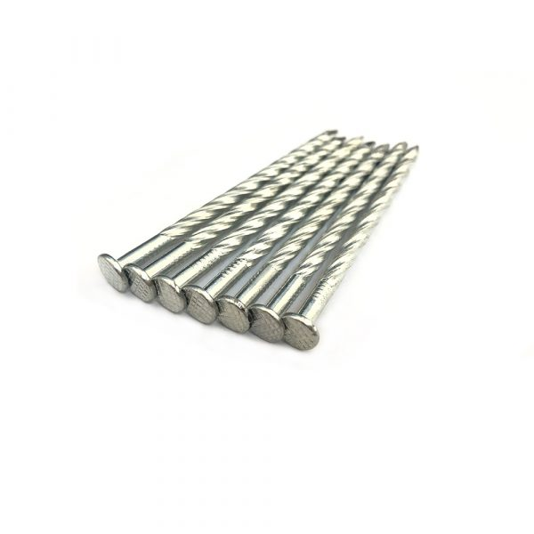 Flat Head Roofing Nails with Twist Shank (Factory)